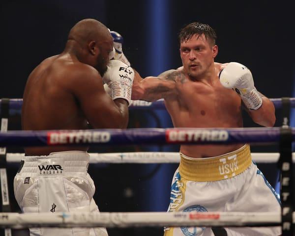 Usyk V Chisora Fight Night