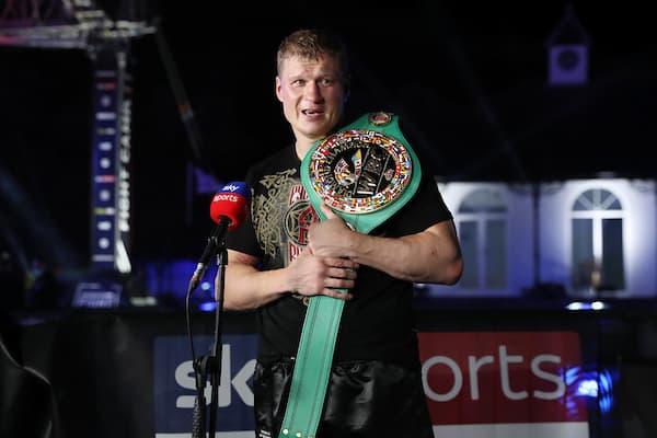 Dillian Whyte Vs Alexander Povetkin, Wbc Diamond Belt Title Fight.