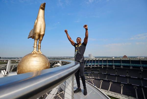 Joshua V Usyk Tottenham Hotspur Stadium Announcement