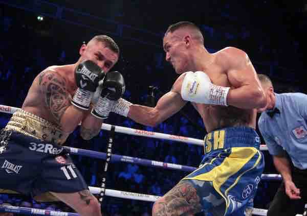Warrington reveals injuries after 'fight of the year' against Carl Frampton