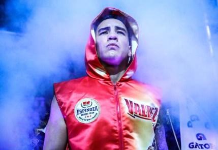 Oscar Valdez Walkout