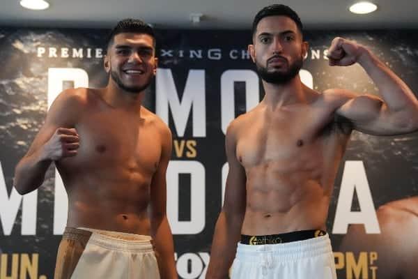 Ramos Vs Mendoza Weigh In2