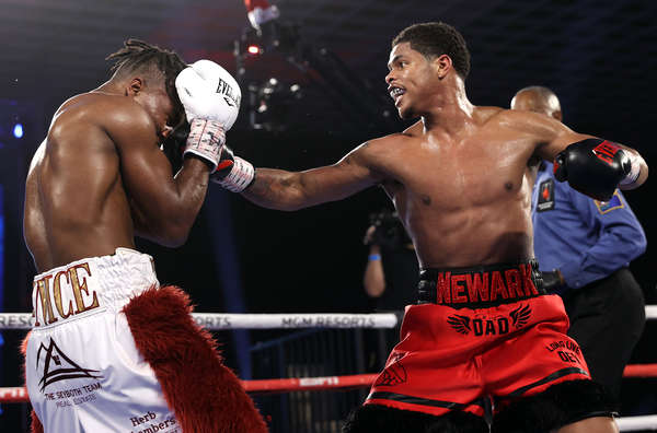 Shakur Stevenson V Toka Khan Clary Fight Night