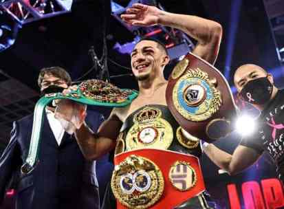 Teofimo Lopez Celebration Titles
