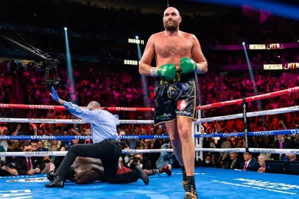 Tyson Fury Vs Deontay Wilder 10.09.21 10 09 2021 Fight Ryan Hafey Premier Boxing Champions