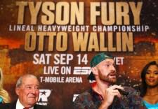 Tyson Fury Mic