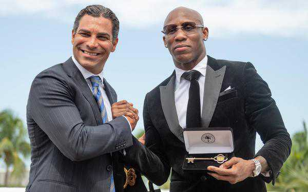 Yordenis Ugas Honored By Miami Mayor 08 21 2021 Behind The Scenes Lester Silva Premier Boxing Champions