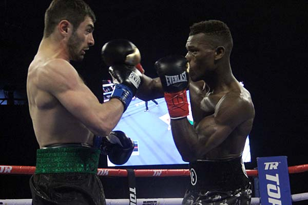 Richard Commey Stops Isa Chaniev Early To Win IBF Lightweight Title class=