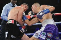 Ortiz Quits in 3rd, Seldin Victorious