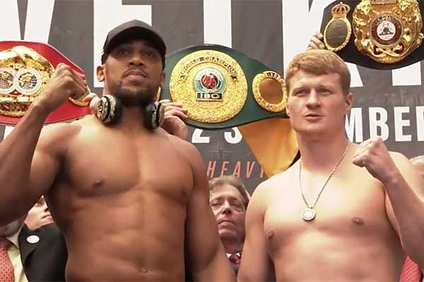 Joshua knocks out Povetkin: how pundits and boxing fans reacted