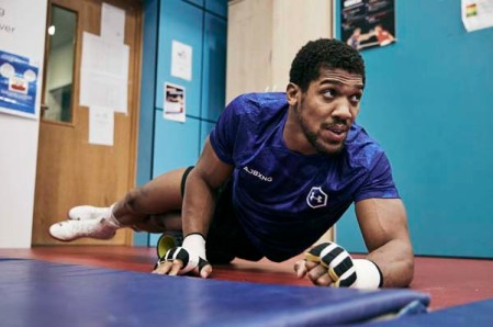 Anthony Joshua Training