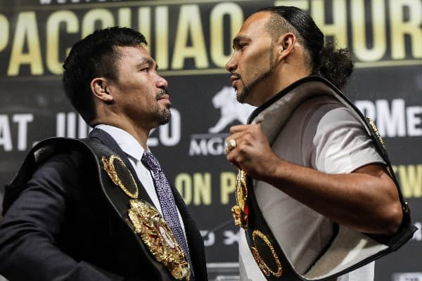 Manny Pacquiao Explains Why He Chose To Fight Keith Thurman