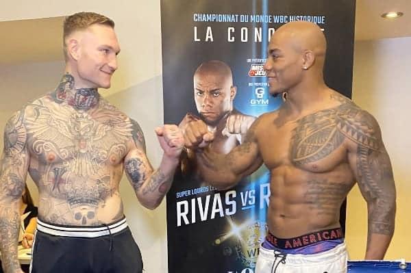 Rivas Rozicki Weigh In