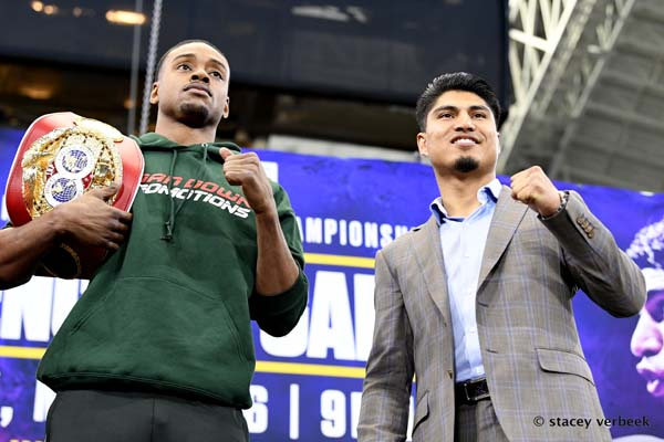Errol Spence, Mikey Garcia Final Press Conference Live On FightLine