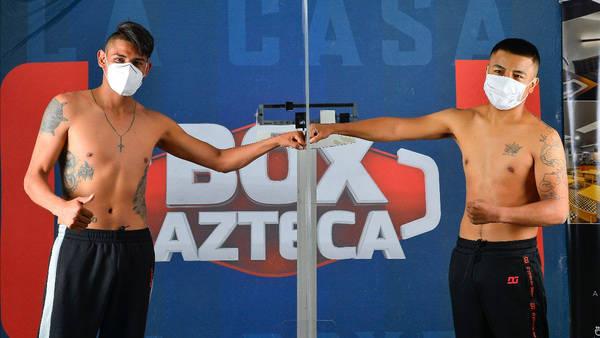 Official Weigh-in: Emanuel Navarrete vs. Uriel Lopez