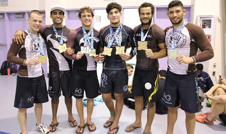 BJJ practitioners including Dillon Danis.