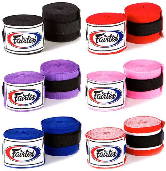 Fairtex Hand Wrap colour options