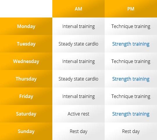Basic Fighter Strength Training Program