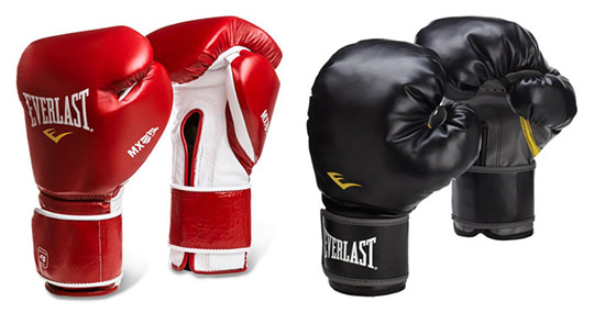 Two Pairs of Everlast Boxing Gloves