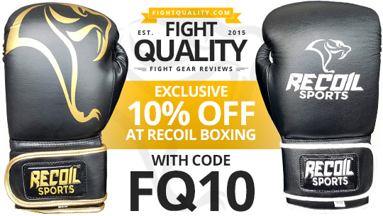 Recoil Boxing Mamba Cobra Training Sparring Boxing Glove Review Discount Code