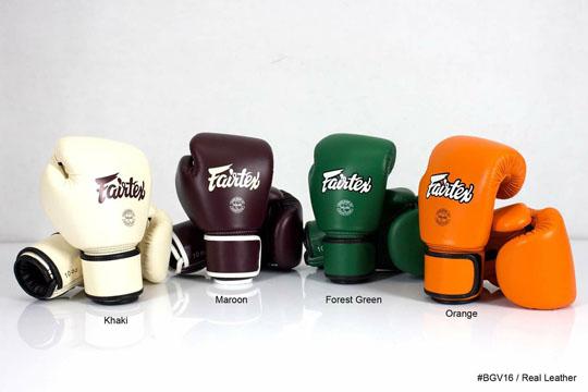 Coming Soon: Fairtex BGV16 Boxing Gloves