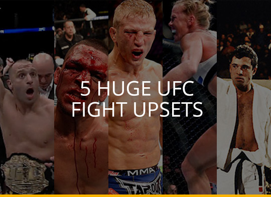 Everyone Loves An Underdog - 5 Huge UFC Fight Upsets