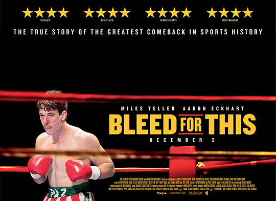 Fight Quality Film Review – Bleed For This (2016)