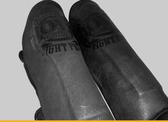 Joya Fight Fast Faded Black Shin Guards Review