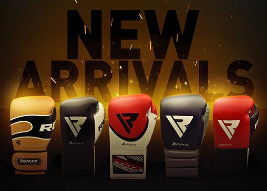 New RDX Boxing Glove Ranges