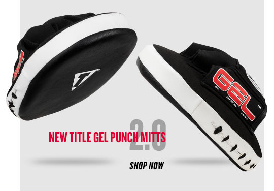 Title Gel Tech Punch Mitts 2.0