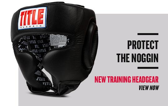 New Title Training Headgear