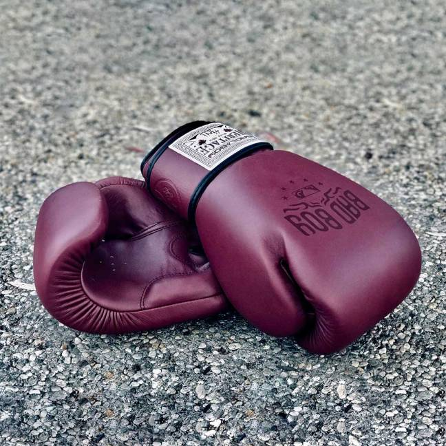 Bad Boy Heritage Premium Cowhide Leather Professional Thai Boxing Gloves