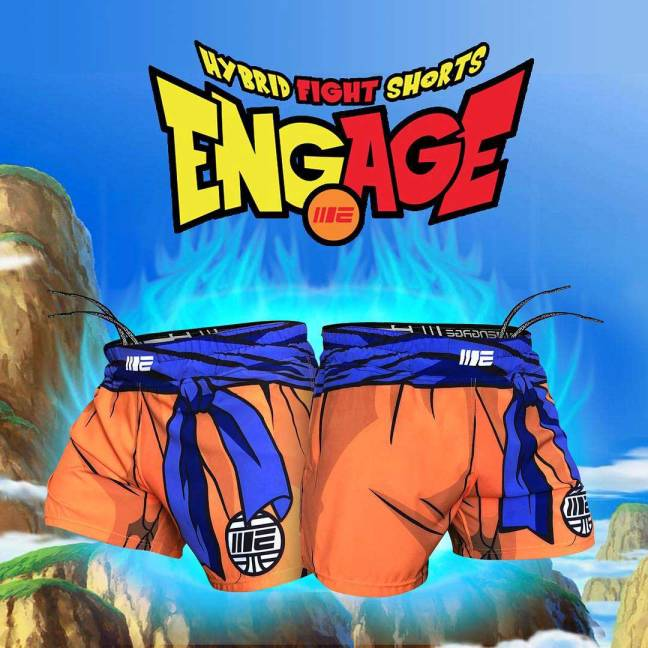 Engage Ball-Z MMA Hybrid Fight Shorts