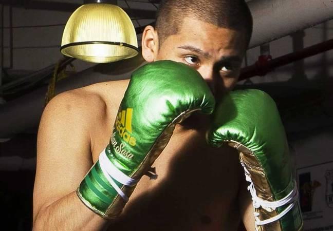 Custom boxing gloves: Adidas