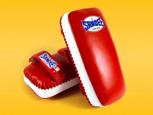 Sandee Extra Thick Flat Thai Kick Pads