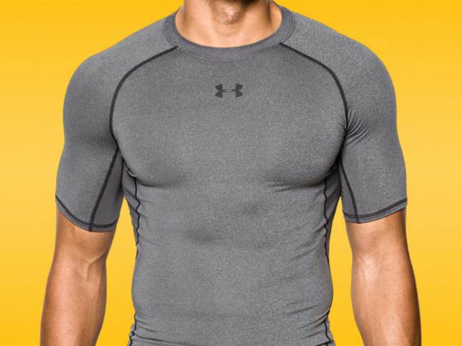 Under Armour HeatGear Short Sleeve Compression Top
