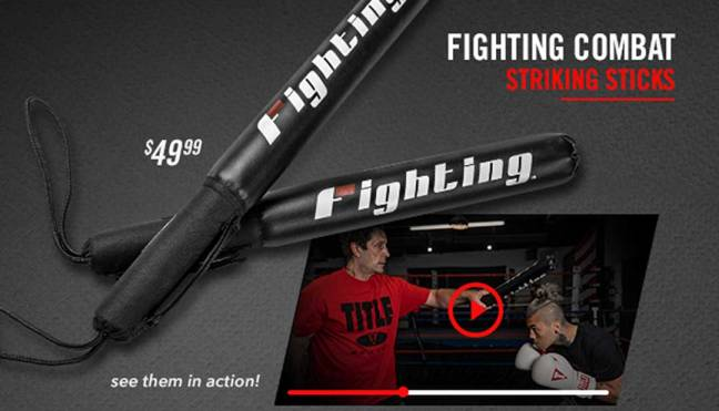 Fighting Combat Striking Sticks