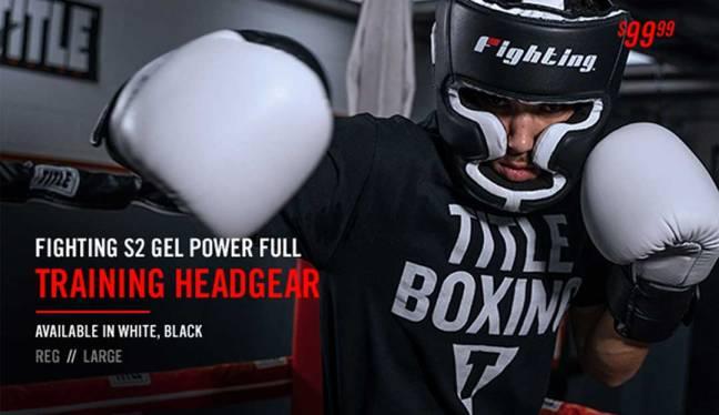 Fighting S2 GEL Power Full Training Headgear