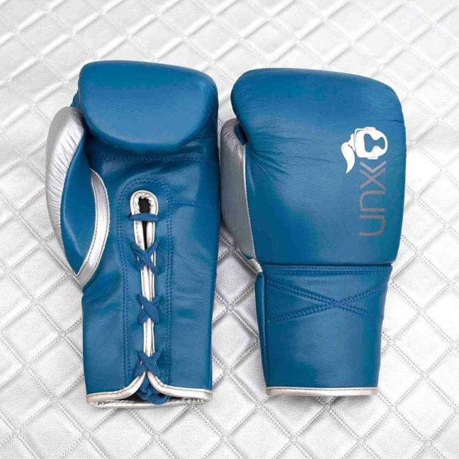Unorthodoxx Elite Spar Blu Boxing Gloves