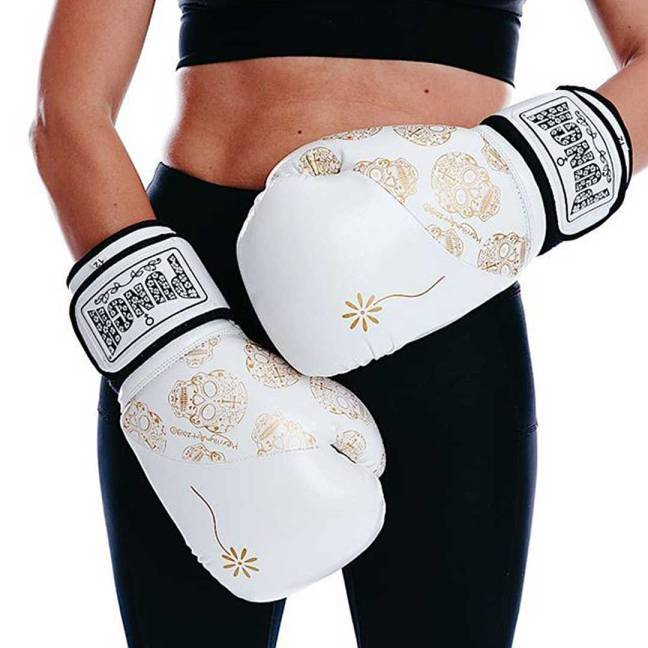 Punch Equipment 'Bling' Womens range - Skull Art