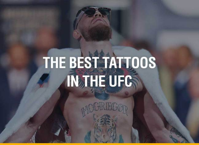 The Best Tattoos in the UFC