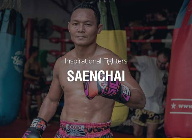 Inspirational Fighters - Saenchai