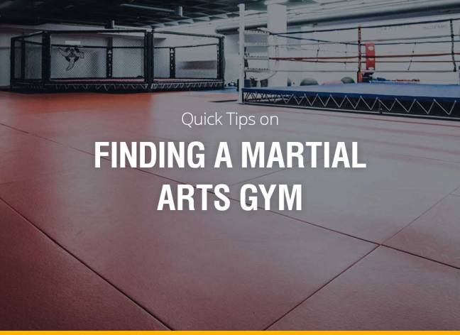 Quick Tips on Finding a Martial Arts Gym