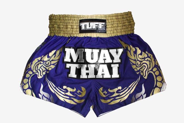 Actual version of the TUFF Custom Muay Thai Shorts