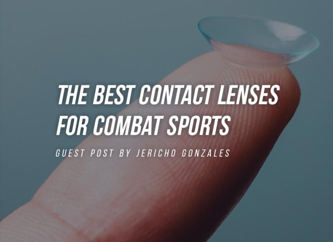 The Best Contact Lenses For Combat Sports