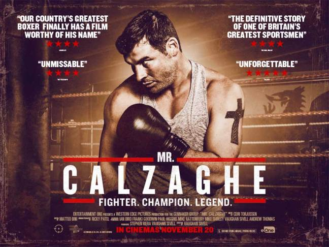Fight Quality Film Review – Mr Calzaghe (2015)
