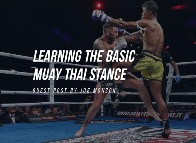 Learning the Basic Muay Thai Stance