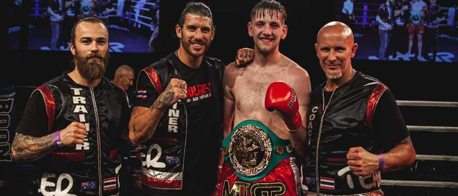 George Mann - MTGP Australia Results - WBC Muay Thai