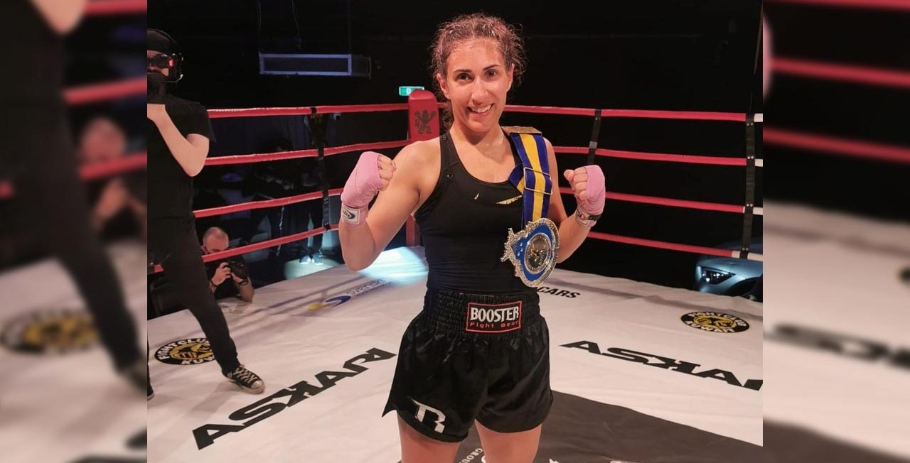 Ewin Ates - Swedish Female Muay Thai Fighter