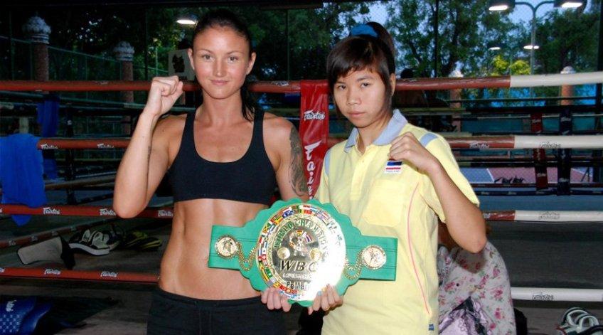 Julie Kitchen - WBC Muaythai World Champion